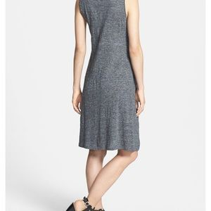 Eileen Fisher Dresses - Eileen Fisher linen blend marked gray tank dress M